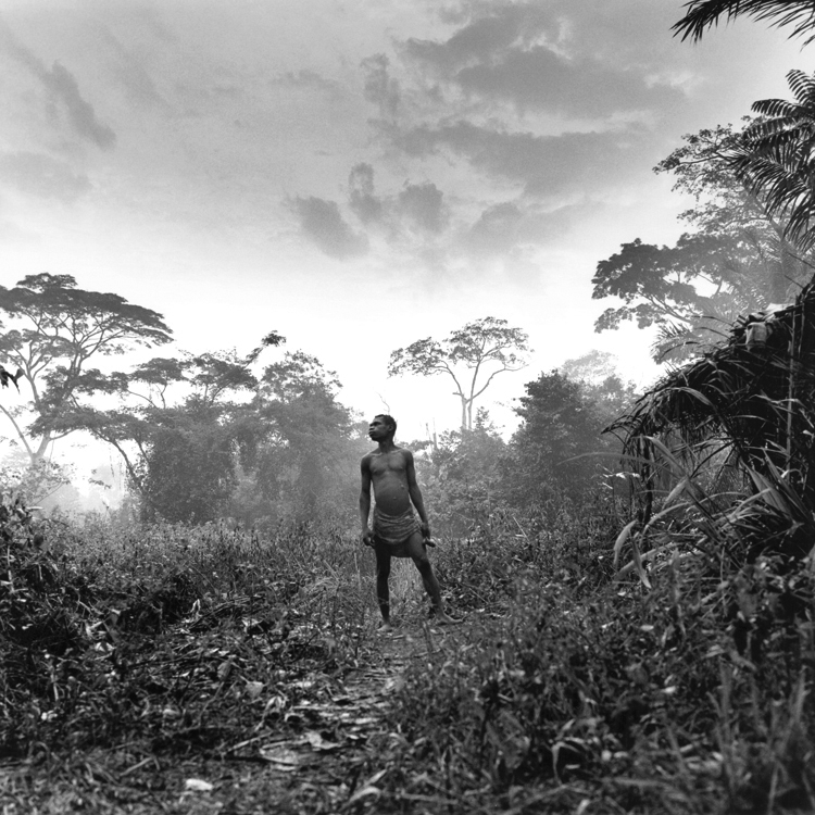 Boko, pygmée Aka, CENTRAFRIQUE 1996